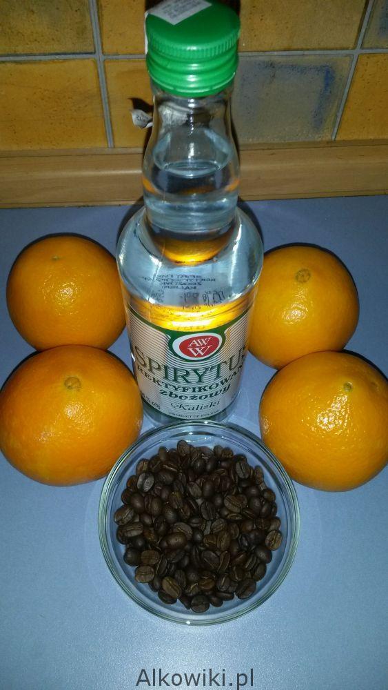 Pomarańczówka- nalewka z kawą